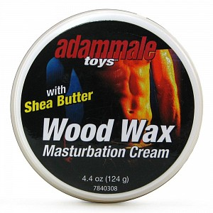 Крем для мастурбации Adam Male Toys Wood Wax Masturbation Cream - 124 гр.
